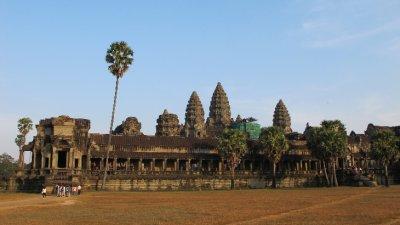 Sunset en Angkor Wat