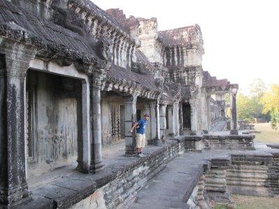 Segundo nivel de Angkor Wat