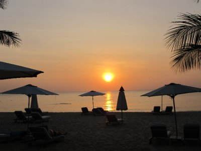 Puesta de sol en Phú Quốc