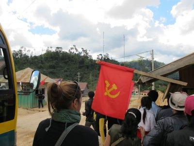 Laos y su frontera sur con Vietnam
