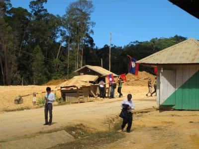 En la frontera de Laos