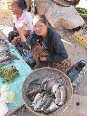 El mercado de Attapu