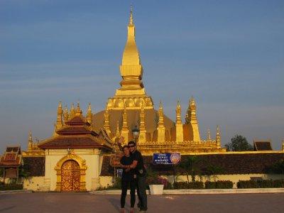 Templo más adorado de Vientiane, Laos