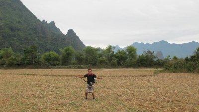 Paisajes de Vang Vieng