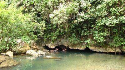 La cueva... en Vang VIeng