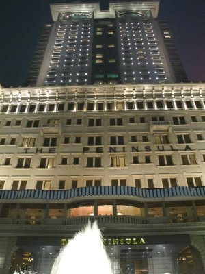 The Peninsula...un dels hotels més reconeguts del món...
