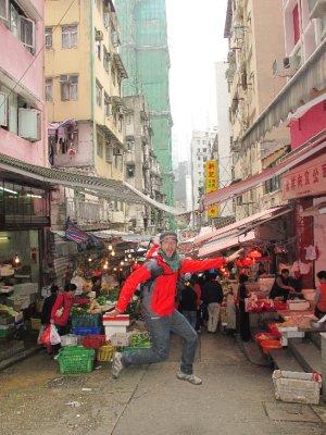 Graham Street Market i el peix volador