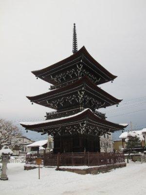 Pagoda de 3 pisos en Takayama