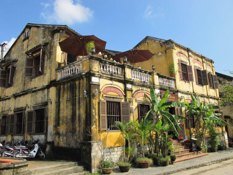 Casas coloniales francesas en Hoi An