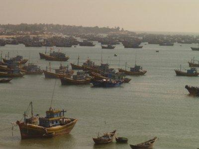East coast fishing boats