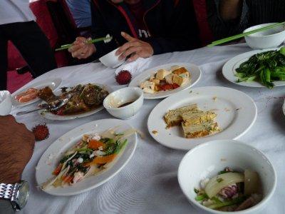 Junk Boat Food