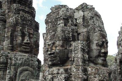 Angkor Thom Heads