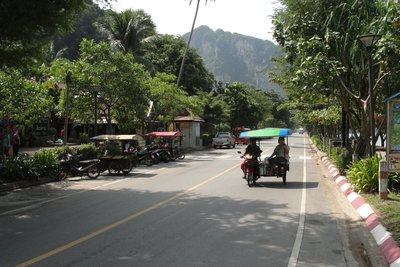 Ao Nong Beach Road