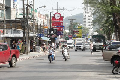 Patong Beach Road