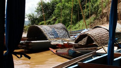 Local Boats  Luang Prabang