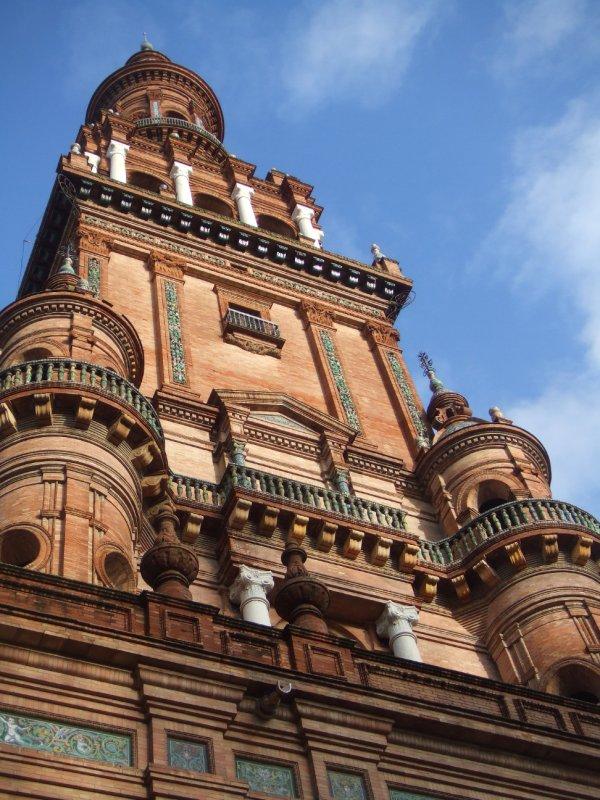 Torre en la Plaza España