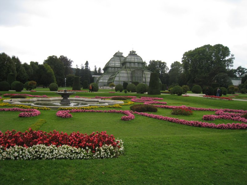 Schonbrunn greenhouse