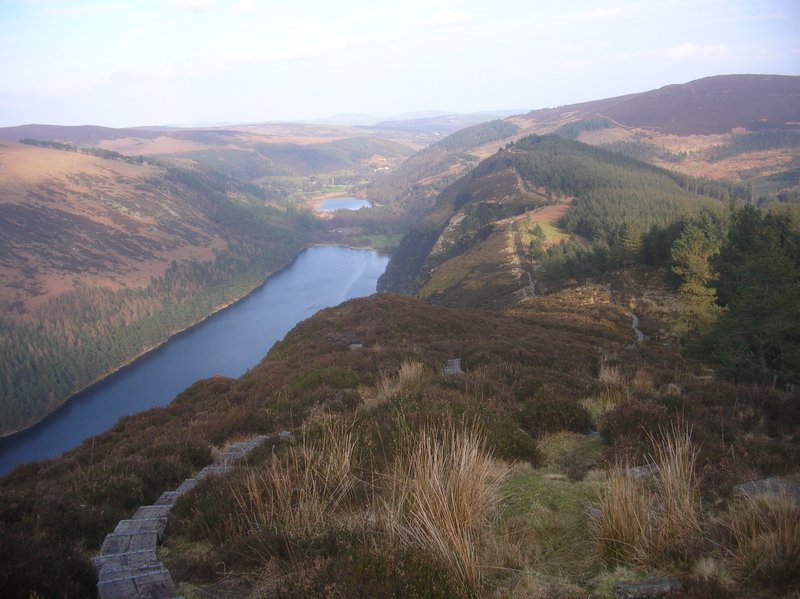 The lakes in Glendalough