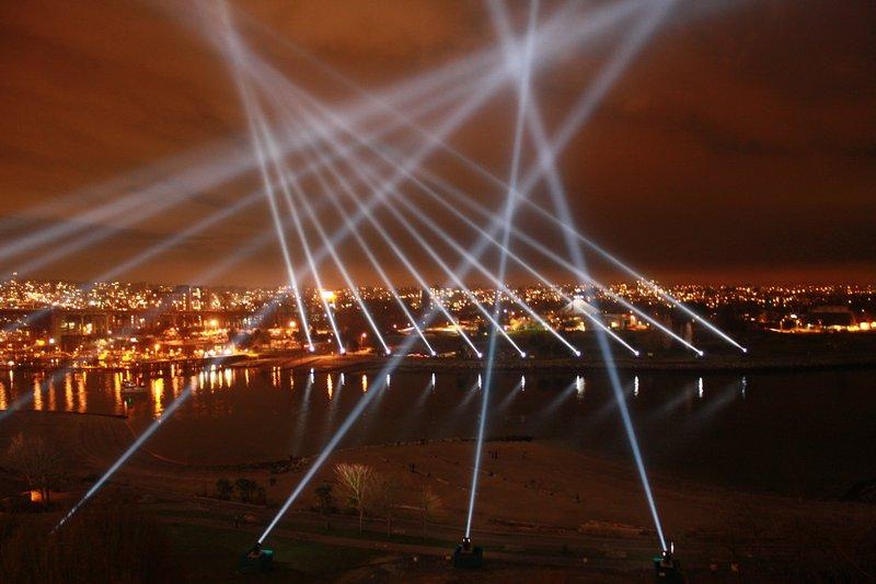 Vancouver Light Show