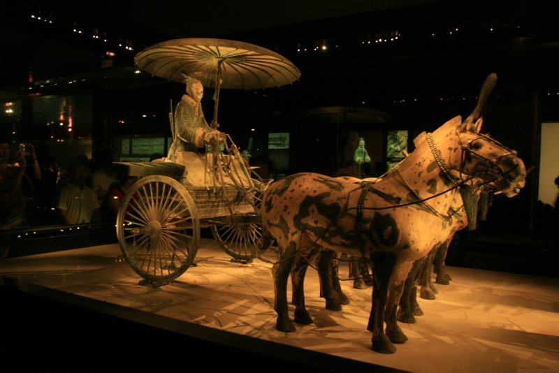 Bronze Chariot-Side