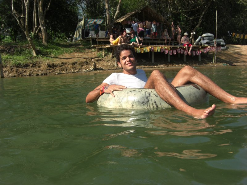 Tubing i Laos