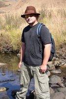 Me hiking.