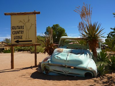 Old cars at Solitaire I