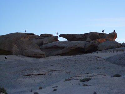 The rocks where we bush camped