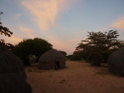 Luxury campsite, Botswana