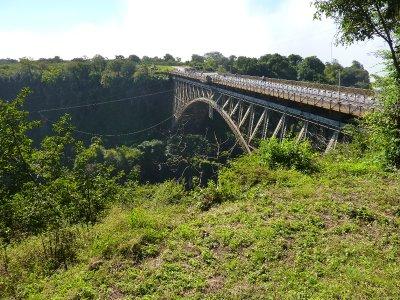 The bungi jumping bridge