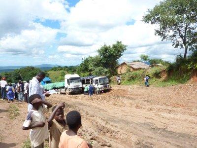 Stuck in the Malawian mud