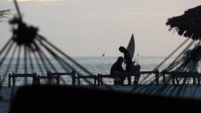 Zanzibar on the beach