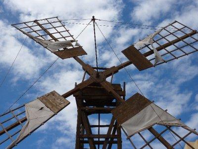 Windmill in Fuerteventura