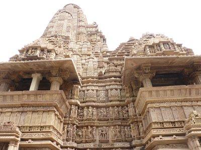 Temples at Khujuraho, India I