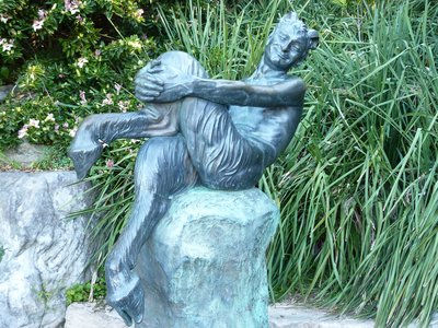The Satyr by Frank Lynch, Royal Botanical Gardens, Sydney, Australia