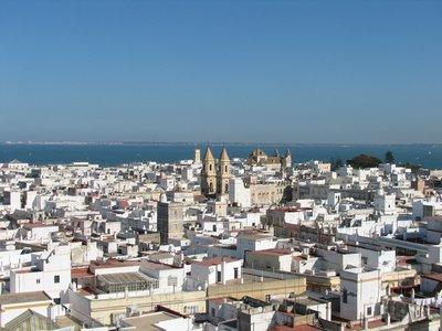 Cadiz from the Tavira Tower