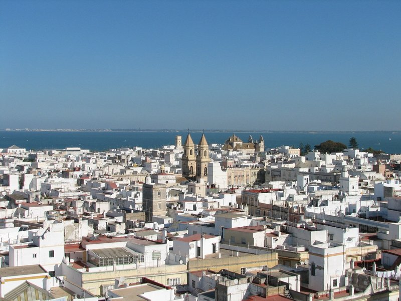 Cadiz from the Tavira Tower