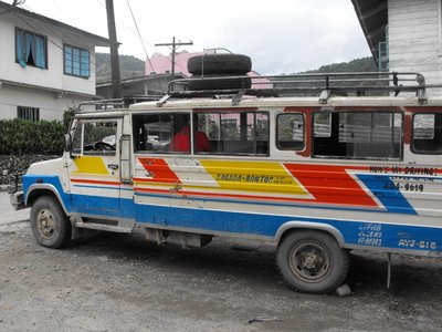 Jeepney to Sagada