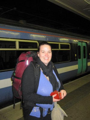 Arriving in London