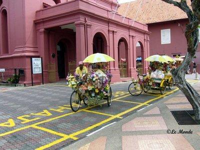 Trishaw at Malacca, Malaysia