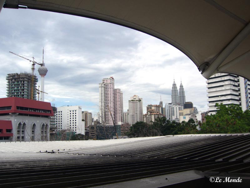 Petronas & KL tower both