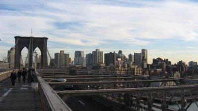 Brooklyn across from Manhattan
