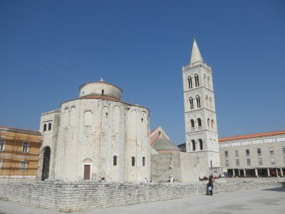 impressive roman remains in Zadar
