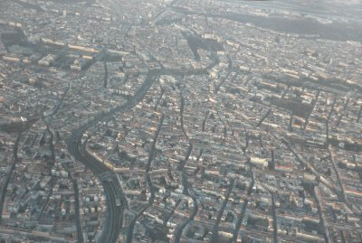 Vienna from the air
