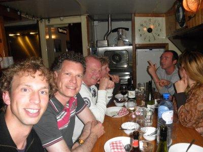 Joost, Walter, Atze, Sacha, Manfred & Meri