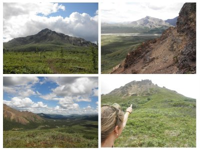 My hike / scramble to Cathedral mountain: no trail: such a great feeling to hike without trail!!