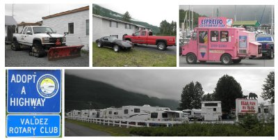 Some cars are for winter and some for summer... furthermore do not expect a cosy campsite for your RV...