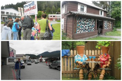 A stop at Wrangell, where the kids alone are allowed to collect and sell the Garnetts.