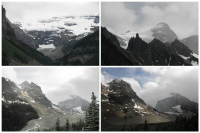 From Lake Louise to Plain Six Glaciers