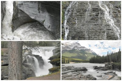 waterfalls, waterfalls and waterfalls, all around Jasper